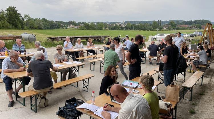 Generalversammlung SVP Stadtpartei auf dem Bachhof