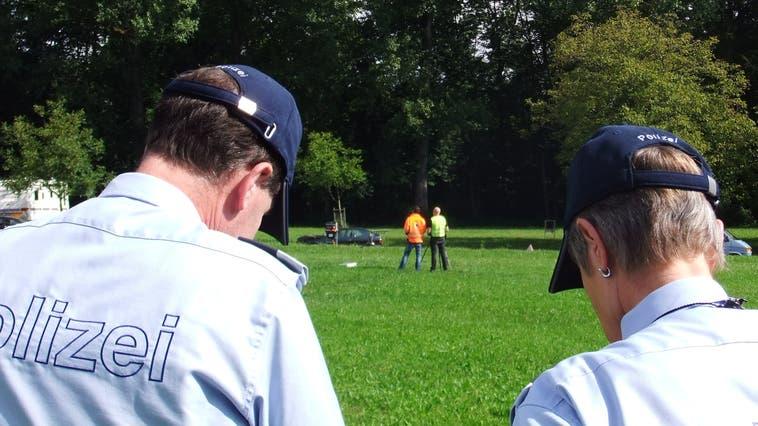 Einer Patrouille der Stadtpolizei fiel der Mann auf und er konnte festgenommen werden. (Themenbild) (Oliver Graf)