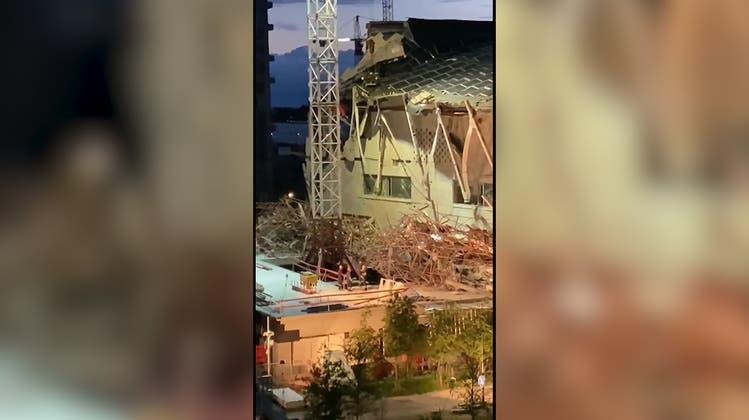 Schulneubau in Antwerpen eingestürzt – fünf Bauarbeiter sterben