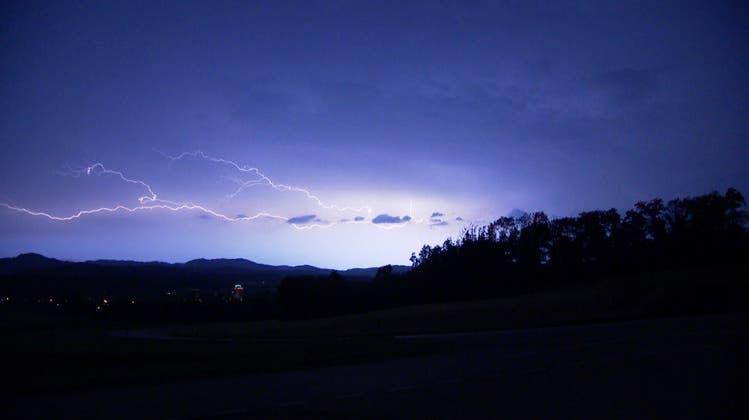 Über 20'000 Blitze: Gewitternacht bricht Rekorde