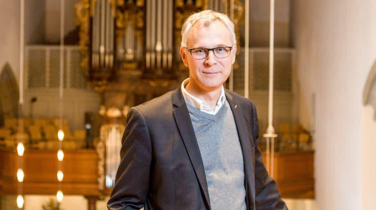 Kirchenratspräsident Christoph Weber-Berg auf einem Archivbild. (Sandra Ardizzone)
