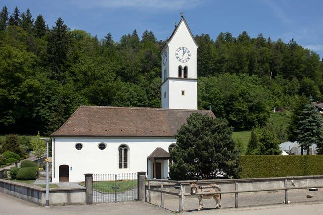 Die reformierte Kirche Kirchleerau.