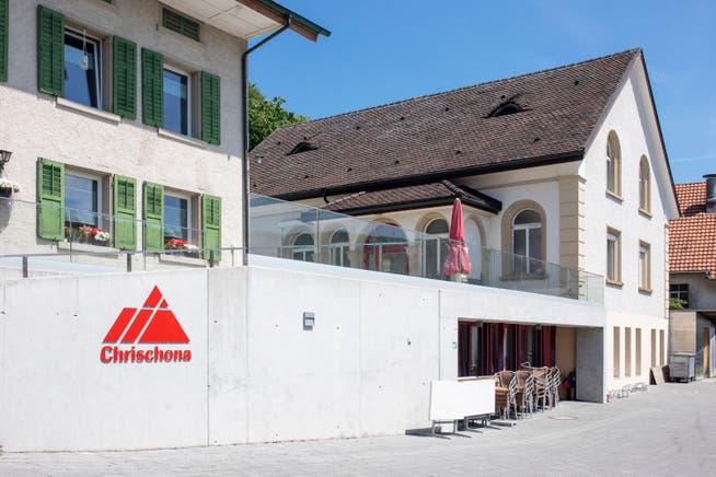 Die Kapelle der Chrischona-Gemeinde Kirchleerau-Reitnau.