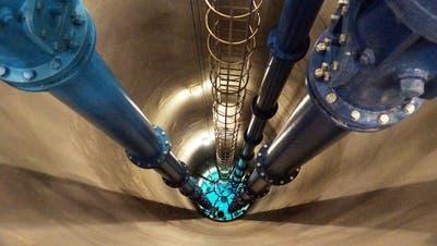 Das Grundwasserpumpwerk Hard II Niederlenz spielt eine wichtige Rolle. (Zvg)