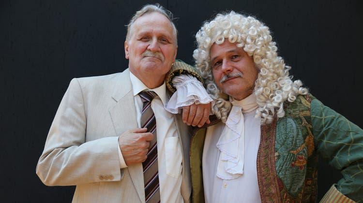 Das Schloss Waldegg lädt zu einem musikalischen Theaterabend ein. (zvg)