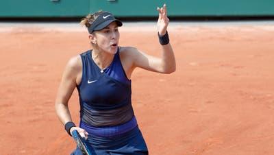 Es ist nicht der Tag von Belinda Bencic. Sie scheitert bei den French Open in der zweiten Runde. Und freut sich auf die Rasensaison. (Thibault Camus / AP)