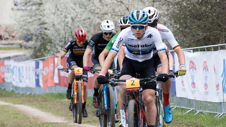Joel Roth beim Weltcup-Rennen in Albstadt. (freshfocus)