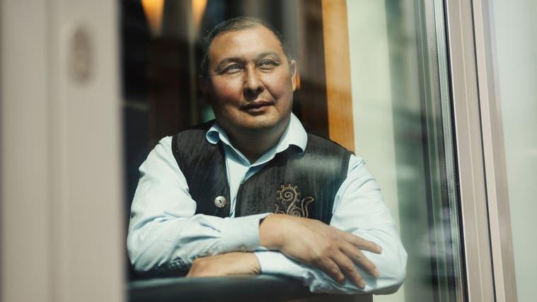 Kairat Birimkulov: Ein angenehmer Gesprächspartner, der weiss, wovon er reden will. (Bild: Dominik Wunderli (Luzern, 31. Mai 2021))