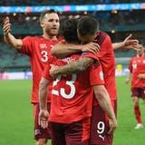 Die Schweiz muss gegen die Türkei Punkte machen, um an der EM weiterzukommen. (Jean-Christophe Bott / KEYSTONE)