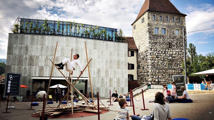 Zirkusfestival cirqu' 8 in Aarau. (Katja Schlegel)