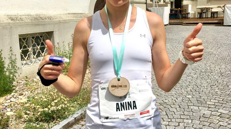 Anina Brunner gewinnt Hörnli Trail 1133