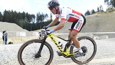 Matthias Stirnemann letzten Sommer an der Schweizer Meisterschaft in Gränichen. (Alexander Wagner / FOTO Wagner)