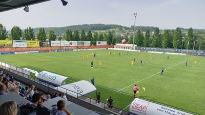 3:4 für die SR Delémont hiess es am Ende der Partie im Stadion Niedermatten in Wohlen (Benjamin Netz)
