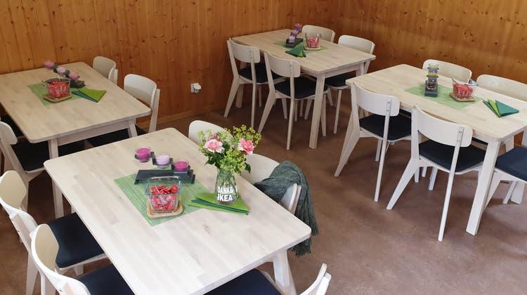 Geschenk von IKEA Spreitenbach an den Familiengartenverein Spreitenbach