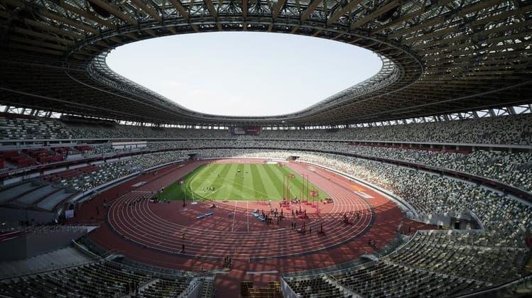 10'000 Zuschauer dürfen das Olympiastadion in Tokio besuchen. (Keystone)