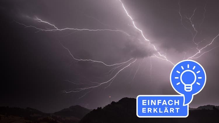 Ein Gewitter über Wattwil – von einem Leser fotografiert. (Bild: Matthias Hautle)