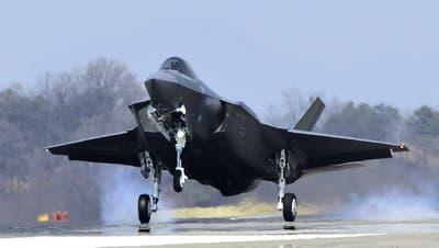 Das US-amerikanische ModellF-35. (KEY / AP South Korea Defense Acquisition Program Administration)