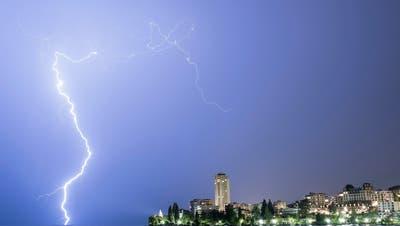 Blitze, Hagel, Überschwemmungen – und heute könnte es ähnlich weiter gehen