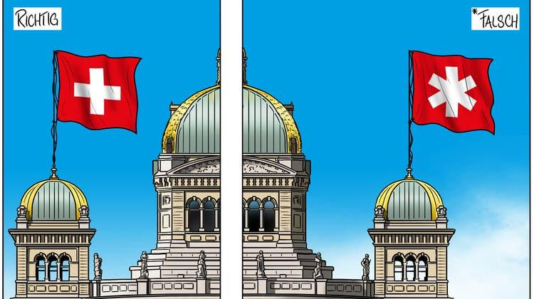 Karikatur, Cartoon: Genderstern, Gendersternchen (Silvan Wegmann / Aargauer Zeitung)