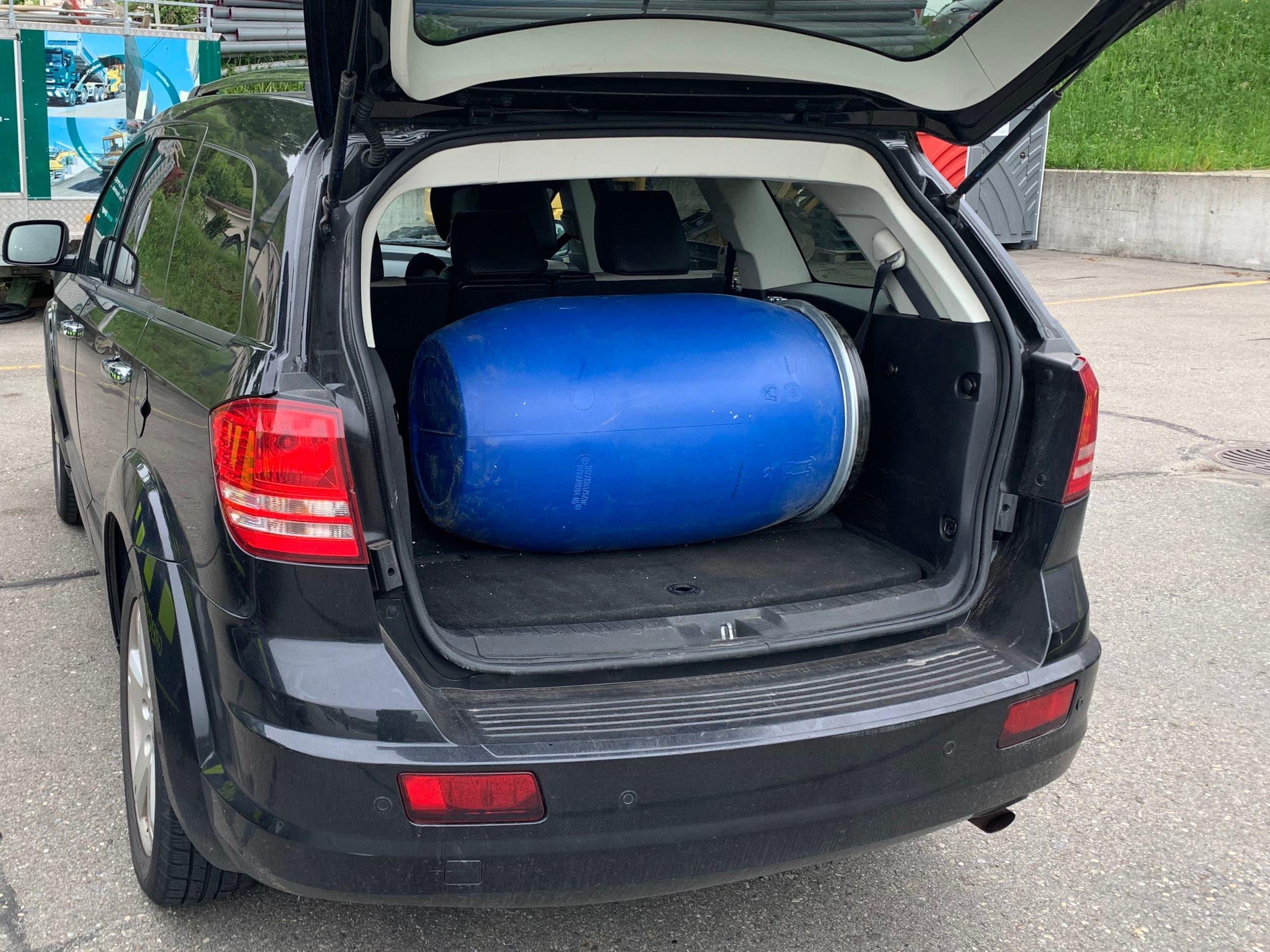 Laufenburg: Drogenfund im Auto: 29 Kilo Cannabispulver