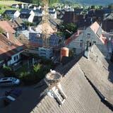 Blick auf Lupsingens Dorfkern. (zVg)