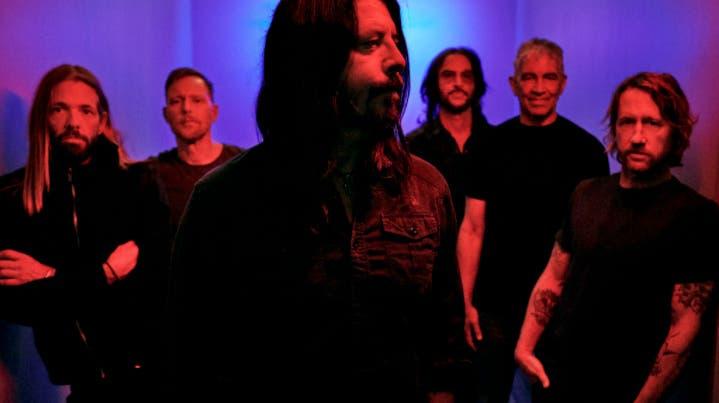 Die Foo Fighters beehren 2022 die Stadt Basel. (Sony Music)
