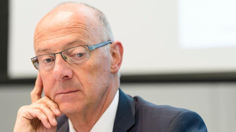 Hans Ziegler wurde vom Bundesstrafgericht für schuldig befunden. (Gian Ehrenzeller / Keystone)