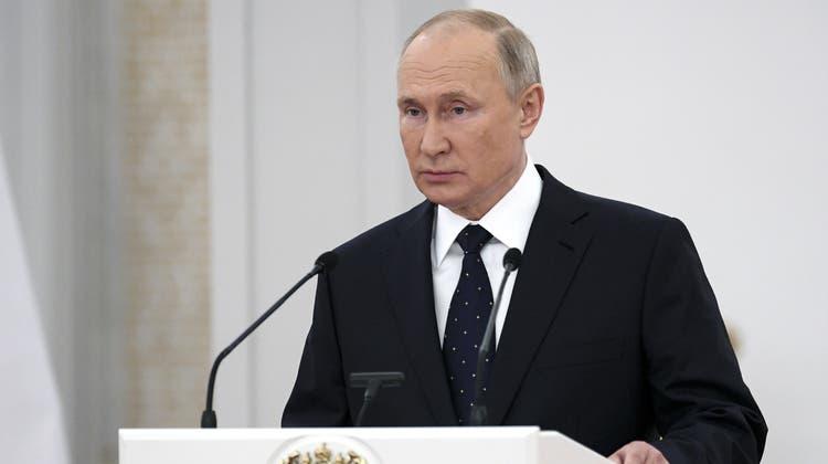 Umstrittener Gastautor: Russlands Präsident Wladimir Putin hat einen Beitrag für «Die Zeit» verfasst - und wird dafür kritisiert. (Ramil Sitdikov / AP)