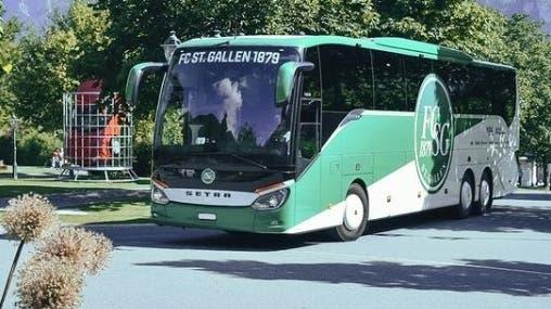 Der FCSG fährt im Grand Resort vor: Bis am Samstag trainiert die erste Mannschaft des FC St. Gallen in Bad Ragaz. (Pressebild)