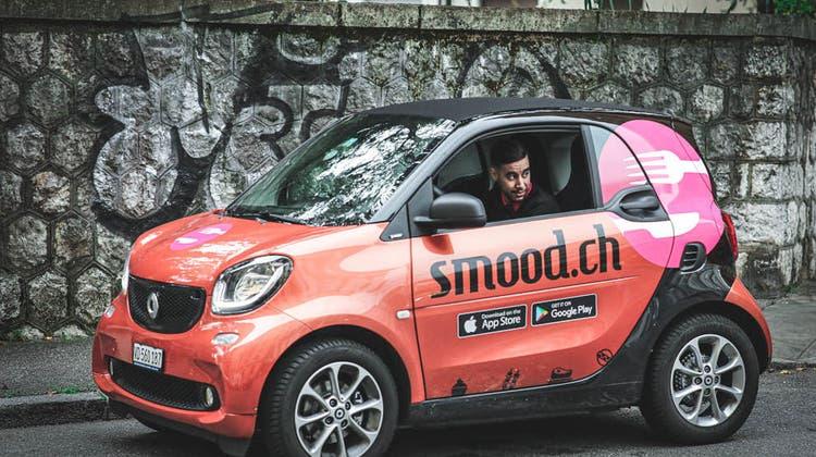 Fahrzeug des Food-Lieferdienstes Smood (Zvg / zvg)