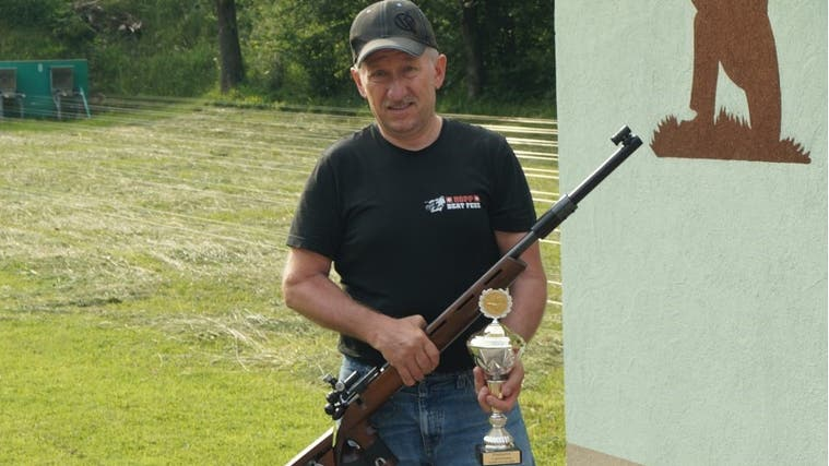 Andy Huber gewann das Cup-Schiessen 2021. (PD)