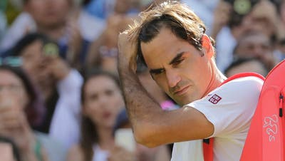 Roger Federer zählt in Wimbledon nicht zu den Topfavoriten. (Ben Curtis / AP)