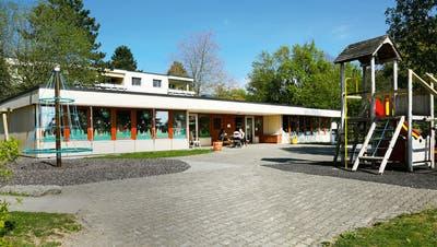 Der Kindergarten Kelleräcker in Widen ist bereits 40 Jahre alt. (zvg)