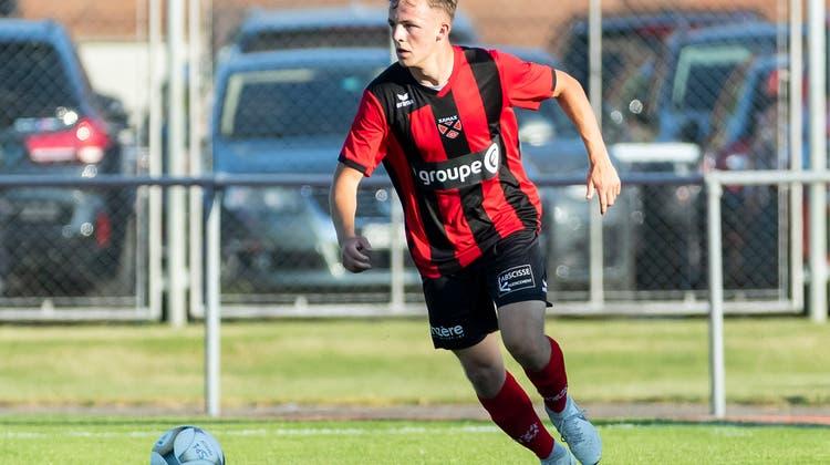 David Stuber begann die Saison 2019/20 bei der Xamax U21 in der 2. Liga inter. Im März 2020 kehrte er zum FC Solothurn zurück. (Pascal Muller/Freshfocus)