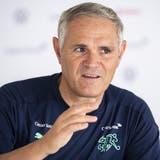 Im Achtelfinal müsse das Team sein bestes Spiel zeigen, kündigte Nati-Direktor Pierluigi Tami an. (Keystone)