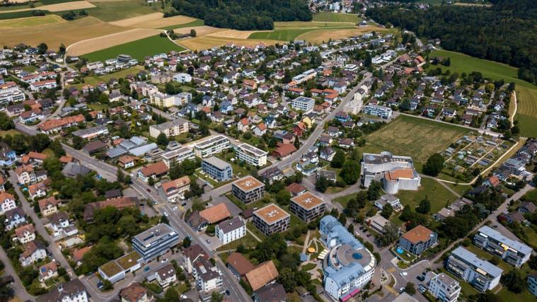 Drohnenaufnahme der Gemeinde Langendorf. (Oliver Menge)