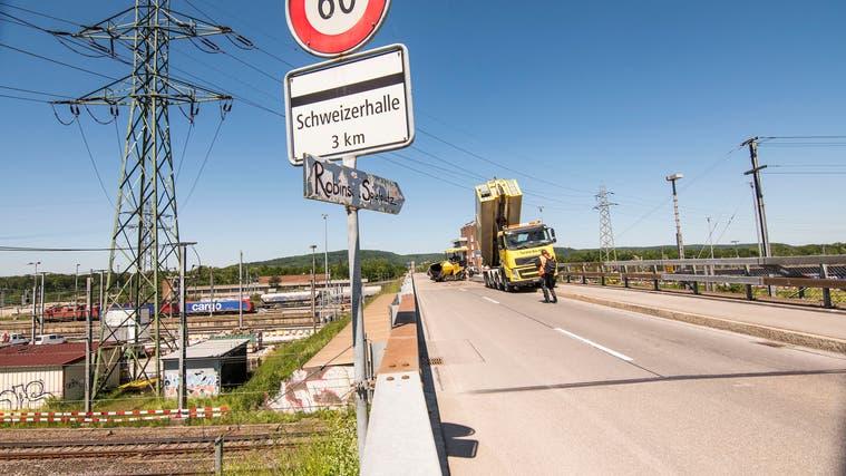 SP Muttenz und die SP Birsfelden fordern, dass die Verbindung zum Hardwald für Velofahrende und Fussgänger gewährleistet werden soll. Auch während der Bauzeit. (Nicole Nars-Zimmer)