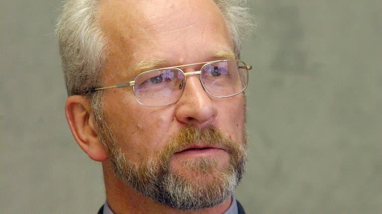 Peter Glatz, langjähriger Gemeinde-, Stadt- und Kantonsrat, LPS und EVP, (1939-2021). (Bild: Susan Basler (13. Mai 2002))