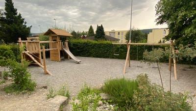 So sieht der neue Spielplatz beim Schulhaus Anglikon aus. (Marc Ribolla)