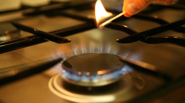 Wer in Basel mit Erdgas heizt oder einen Gasherd hat, wird künftig rund 2,6 Prozent weniger bezahlen. (Symbolbild: Manuela Jans)