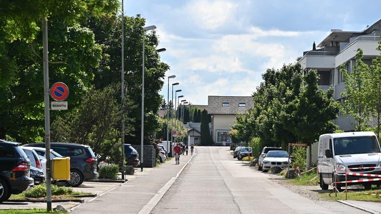 Der Kredit für die Sanierung und Verkehrsberuhigung der Einschlagstrassein Egerkingen wurde genehmigt. (Bruno Kissling)