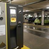 In der im Salmenpark eröffneten Coop-Filiale in Rheinfelden sind nur die ersten 30 Minuten gratis. (Hans Christof Wagner)