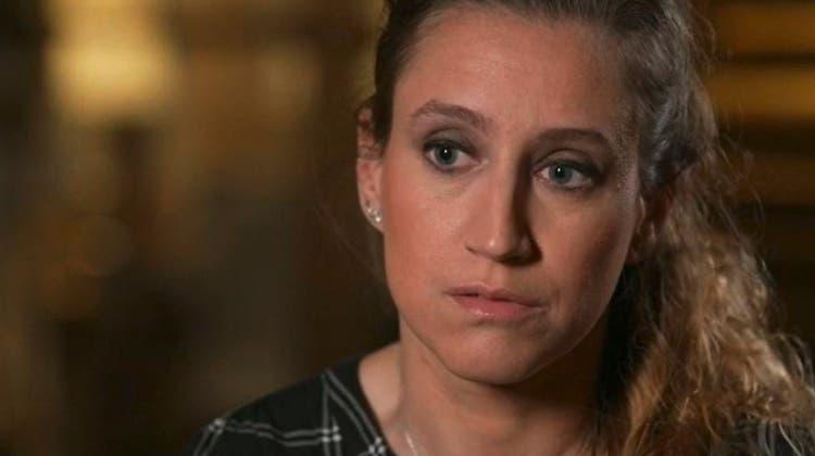 Valérie Bacot während eines Interviews mit dem Französischen Fernsehen. (Screenshot TF1)