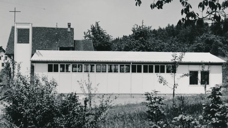 Von der Kapelle im privaten Garten in Fahrwangen (eingeweiht 1951) ... (zvg)