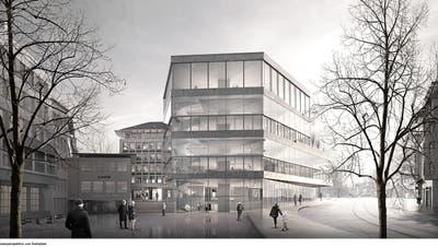 So sieht die neue Bibliothekim Unionsgebäude aus. (Bild: PD)