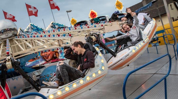 Die Chappeler Chilbi fand letztmals 2019 statt (im Bild der Lunapark). (Patrick Lüthy)