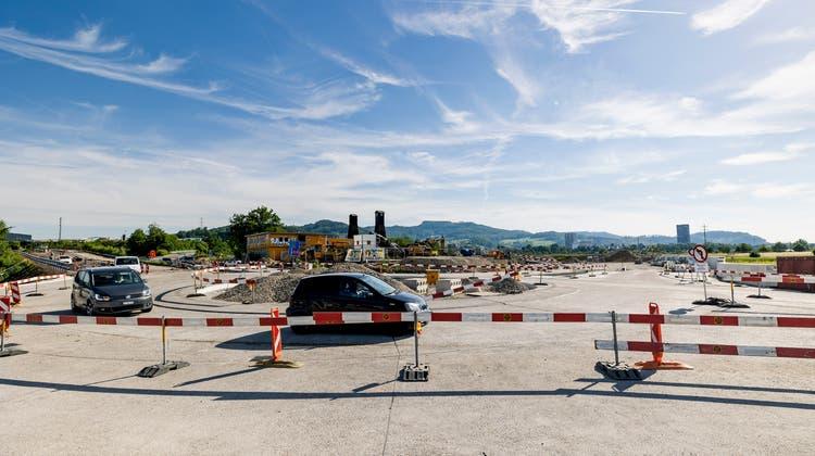 Am Neubau der Rauricastrasse als Ersatz der alten Rheinfelderstrasse wird nicht gerüttelt. (Kenneth Nars)