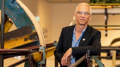 Roland Wetzel leitet seit zwölf Jahren das Museum Tinguely. (Bild: Kenneth Nars)