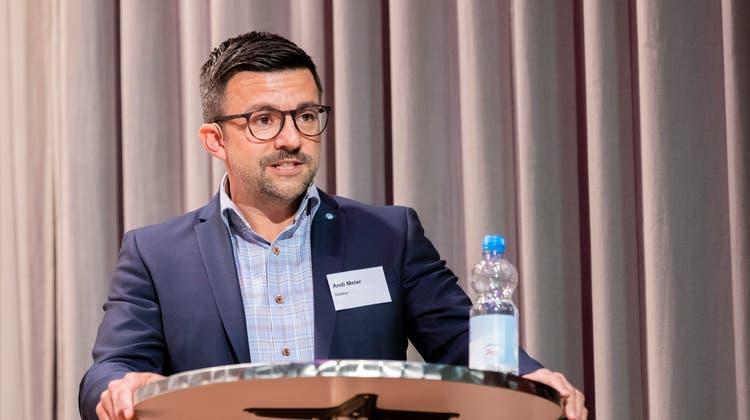 Der neu gewählte Ammann Andi Meier. (Severin Bigler)