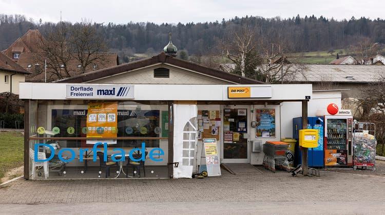 Die Gemeinde wird zur Mehrheitsaktionärin der Dorfladen AG. (Severin Bigler)